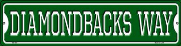 Diamondbacks Way Novelty Mini Metal Street Sign MK-984