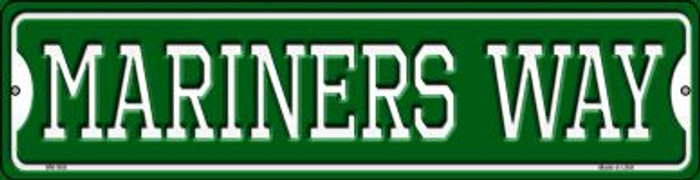 Mariners Way Novelty Mini Metal Street Sign MK-988