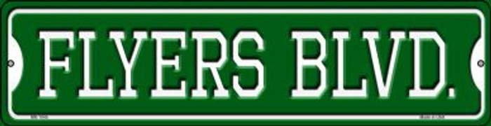 Flyers Blvd Novelty Mini Metal Street Sign MK-1045