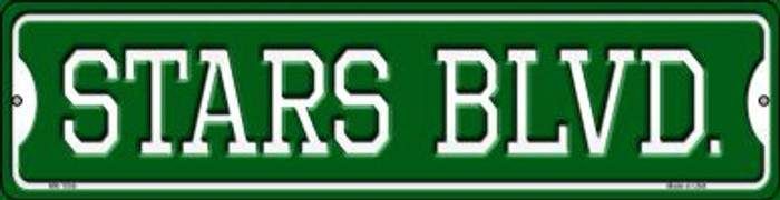 Stars Blvd Novelty Mini Metal Street Sign MK-1056