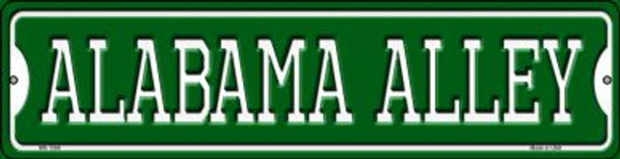 Alabama Alley Novelty Mini Metal Street Sign MK-1066