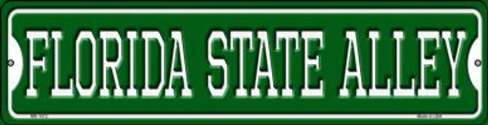 Florida State Alley Novelty Mini Metal Street Sign MK-1072