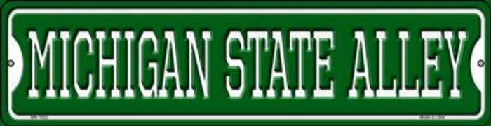 Michigan State Alley Novelty Mini Metal Street Sign MK-1082