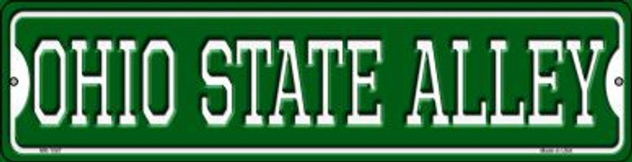 Ohio State Alley Novelty Mini Metal Street Sign MK-1087