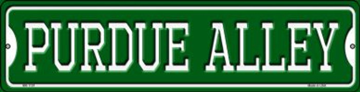 Purdue Alley Novelty Mini Metal Street Sign MK-1101