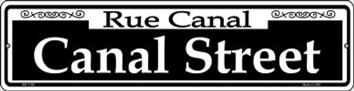 Canal Street Novelty Mini Metal Street Sign MK-1108