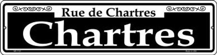 Chartres Novelty Mini Metal Street Sign MK-1121
