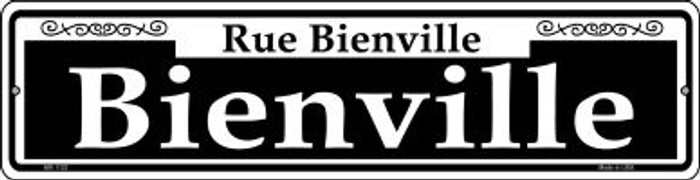 Bienville Novelty Mini Metal Street Sign MK-1123
