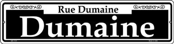 Dumaine Novelty Mini Metal Street Sign MK-1137