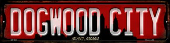 Atlanta Georgia Dogwood City Novelty Mini Metal Street Sign MK-1249