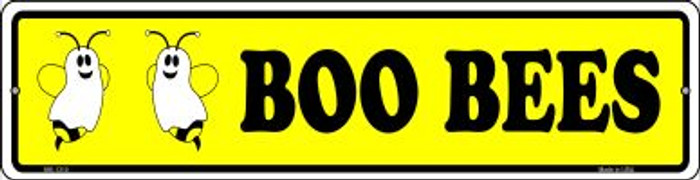 Boo Bees Novelty Mini Metal Street Sign MK-1310