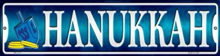 Hanukkah Novelty Mini Metal Street Sign MK-1371