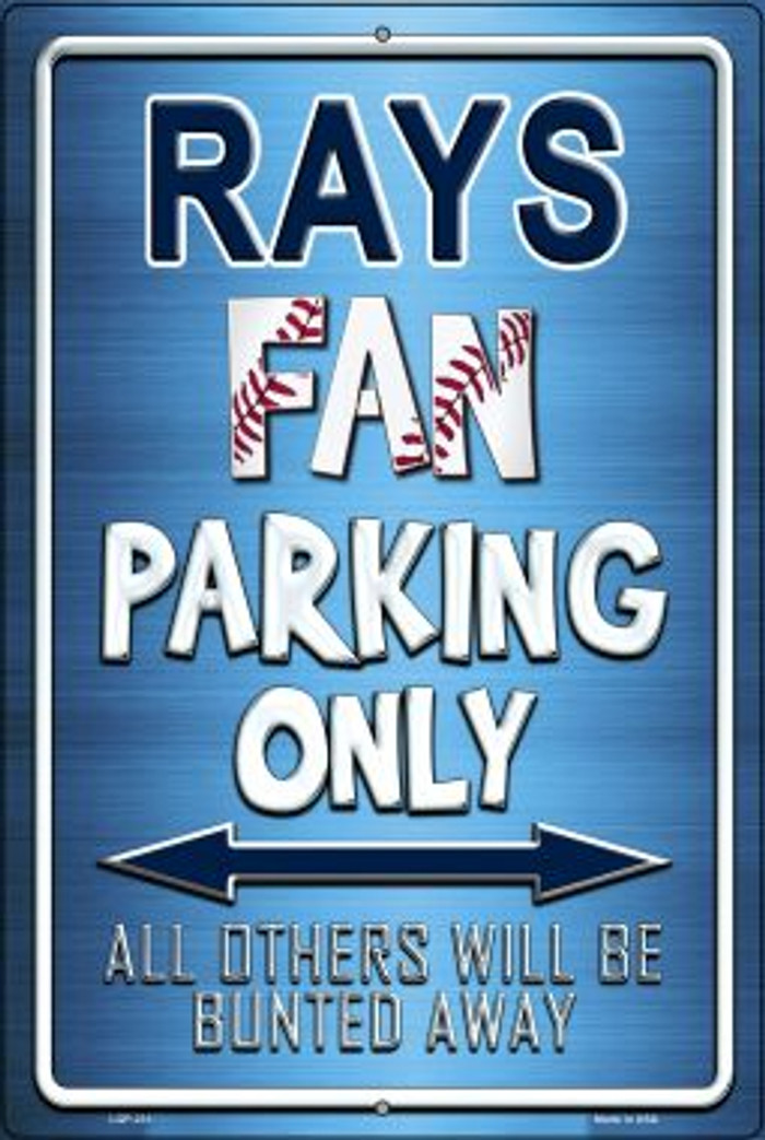 Rays Novelty Metal Large Parking Sign LGP-231
