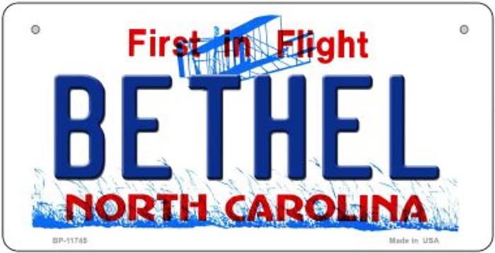 Bethel North Carolina State Novelty Metal Bicycle Plate BP-11745