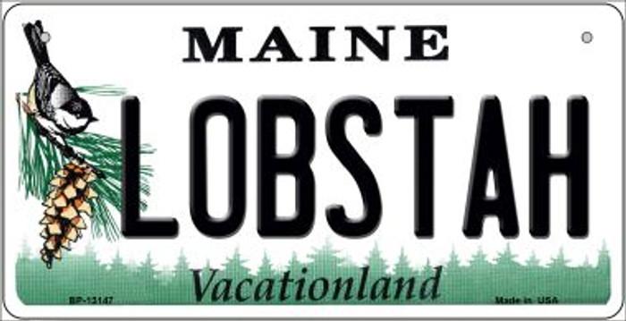 Lobstah Maine Novelty Metal Bicycle Plate BP-13147