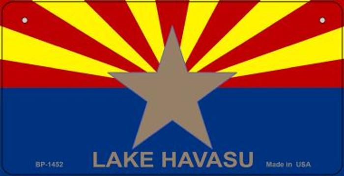 Lake Havasu Arizona Flag Novelty Metal Bicycle Plate BP-1452