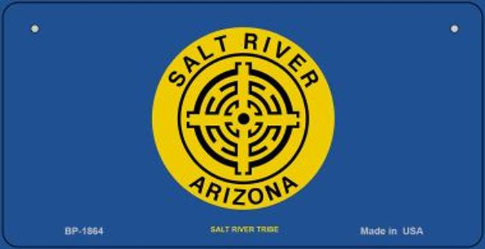 Salt River Tribe Novelty Metal Bicycle Plate BP-1864