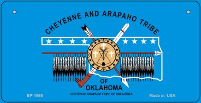 Cheyenne Arapaho Tribe Novelty Metal Bicycle Plate BP-1869