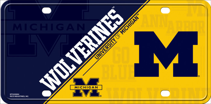 Michigan Deluxe Novelty Metal License Plate Tag LP-5525