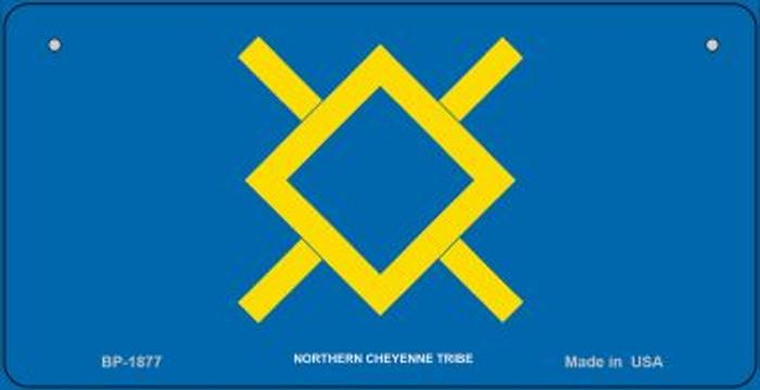 Northern Cheyenne Tribe Novelty Metal Bicycle Plate BP-1877