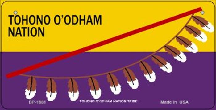 Tohono O'odham Tribe Novelty Metal Bicycle Plate BP-1881