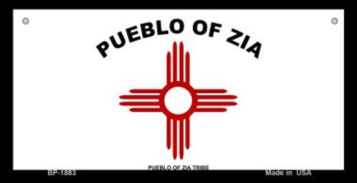 Zia Pueblo Novelty Metal Bicycle Plate BP-1883