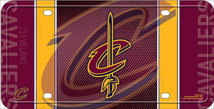 Cleveland Cavaliers Metal Novelty License Plate LP-5514