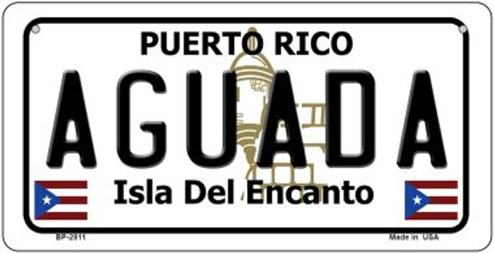 Aguada Puerto Rico Novelty Metal Bicycle Plate BP-2811