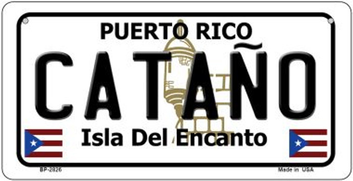 Catano Puerto Rico Novelty Metal Bicycle Plate BP-2826