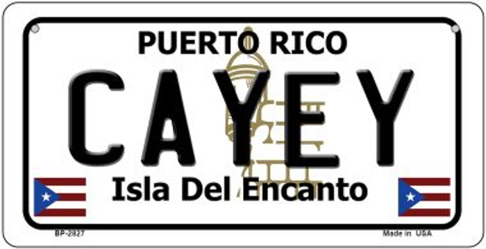 Cayey Puerto Rico Novelty Metal Bicycle Plate BP-2827