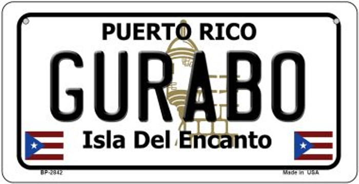 Gurabo Puerto Rico Novelty Metal Bicycle Plate BP-2842