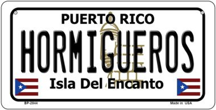 Hormigueros Puerto Rico Novelty Metal Bicycle Plate BP-2844