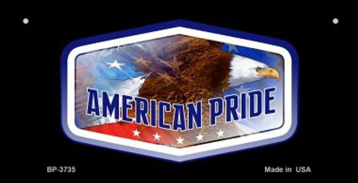 American Eagle Pride Novelty Metal Bicycle Plate BP-3735