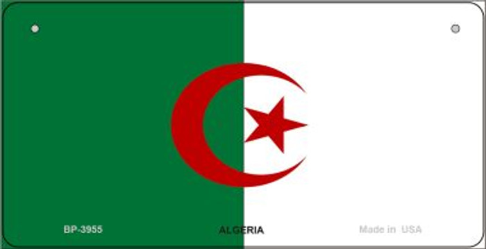 Algeria Flag Novelty Metal Bicycle Plate BP-3955