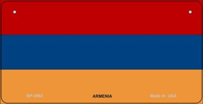 Armenia Flag Novelty Metal Bicycle Plate BP-3962