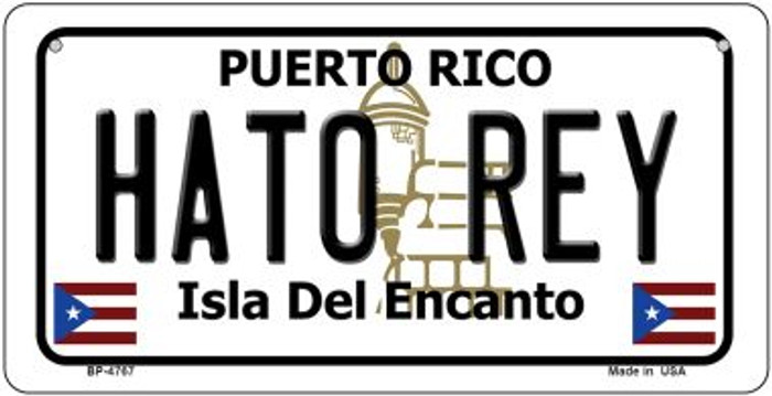 Hato Rey Puerto Rico State Novelty Metal Bicycle Plate BP-4767