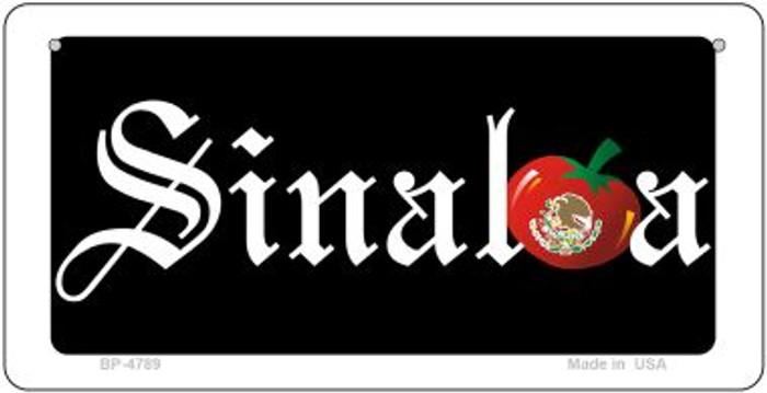 Sinola Novelty Metal Bicycle Plate BP-4789