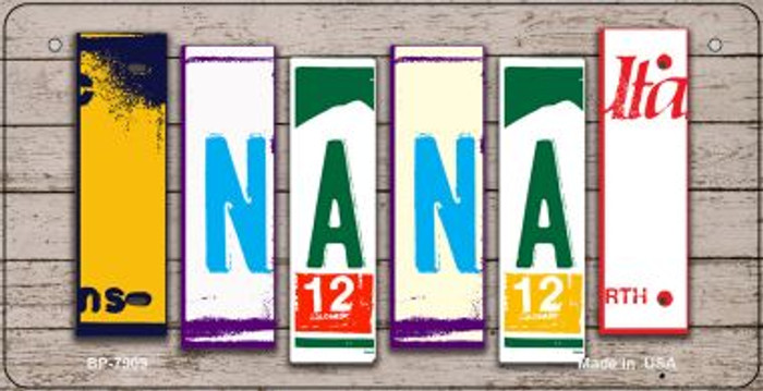 Nana Plate Art Novelty Metal Bicycle Plate BP-7909
