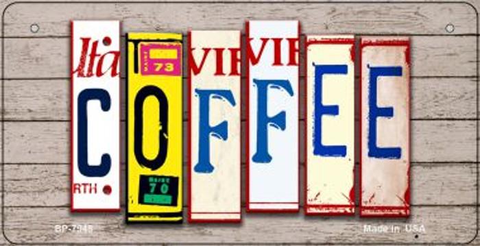 Coffee Plate Art Novelty Metal Bicycle Plate BP-7948