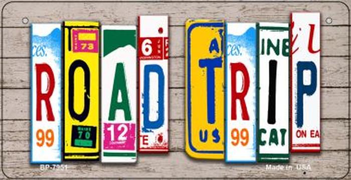 Road Trip Plate Art Novelty Metal Bicycle Plate BP-7951