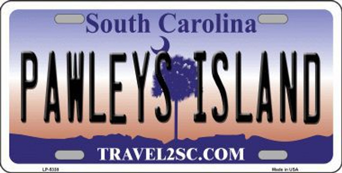 Pawleys Island South Carolina Metal Novelty License Plate LP-5338