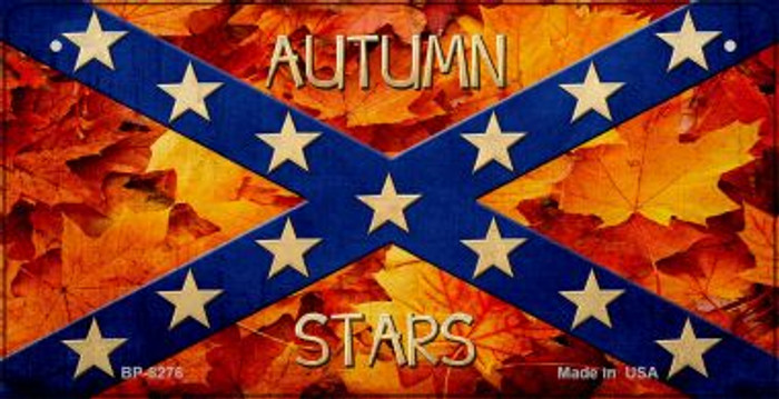Autumn Stars Novelty Metal Bicycle Plate BP-8276