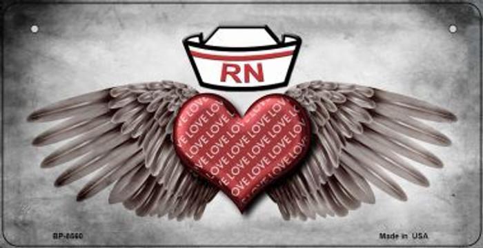 Love RN Novelty Metal Bicycle Plate BP-8560