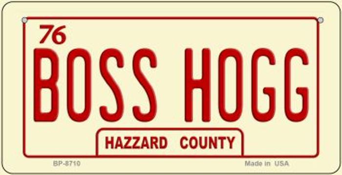 Boss Hogg Novelty Metal Bicycle Plate BP-8710