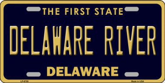 Delaware River Delaware Novelty Metal License Plate LP-6709