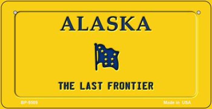 Alaska Blank Novelty Metal Bicycle Plate BP-9509