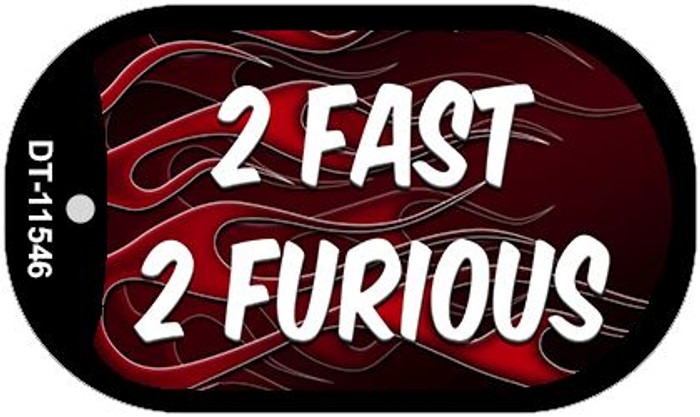 2 Fast 2 Furious Novelty Metal Dog Tag Necklace DT-11546