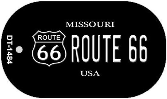 Route 66 Missouri Novelty Metal Dog Tag Necklace DT-1484