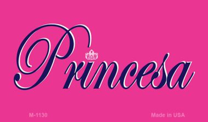 Princesa Novelty Metal Magnet M-1130