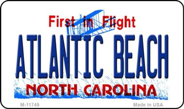 Atlantic Beach North Carolina State Magnet M-11749